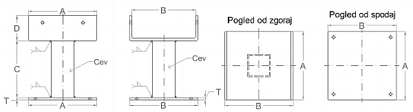 podstavek osnovni-Model
